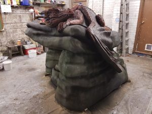 Incredible-Creations, Victoria Morris, Lee Nicholson, Dragon, Sculpture, Climbing, climbable