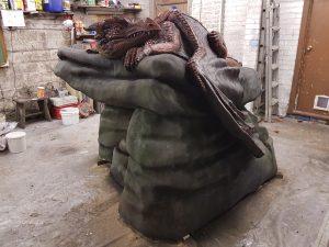 Incredible-Creations, Victoria Morris, Lee Nicholson, Dragon, Sculpture, Climbing, climbable