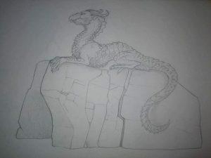 Griffin, concept sketch, Incredible-Creations, Victoria Morris, Lee Nicholson, Dragon, Sculpture, Climbing, climbable