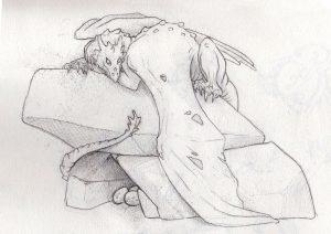 Concept Sketch, Incredible-Creations, Victoria Morris, Lee Nicholson, Dragon, Sculpture, Climbing, climbable